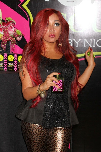 Snooki HAIR ~ length & color