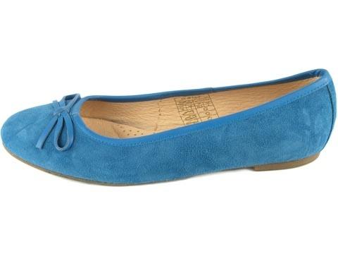 ... og i blått