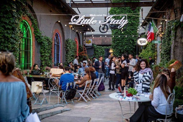 Mangiare all'aperto a Milano (a massimo 40€)