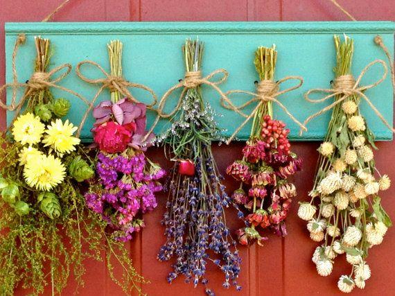 dried flower wall arrangements - Buscar con Google