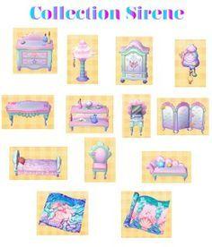 Mermaid Furniture Series
