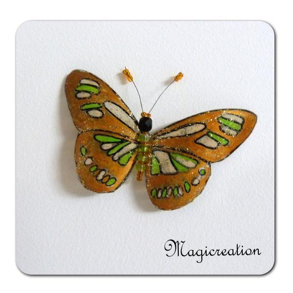 MAGNET PAPILLON OSIRIS - Boutique www.magicreation.fr