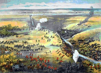 In late 1860 a rebellion went on, in an area which is now know as modernday Manitoba. It involved the HBC and the Metis. The rebellion was about how the Metis were very angry on how the HBC was sell Ruperts land without their concent. HBC sent in surveyors in to the Metis land and this angered them and worried thinking the government was selling their land. Riel and the Metis formed the ``Metis National Comittee`` which got them 200k hectares of land. Reil had been banned after the…