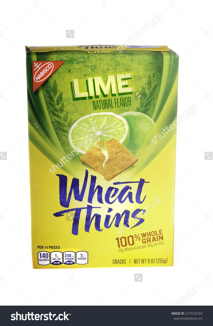 West Point - August 17, 2014: 9oz Box Of Nabisco Brand Lime Flavored Wheat Thins 스톡 사진 211616734 : Shutterstock