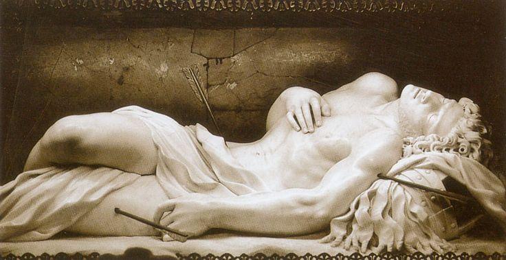 Martyrdom of St Sebastian (detail) Antonio