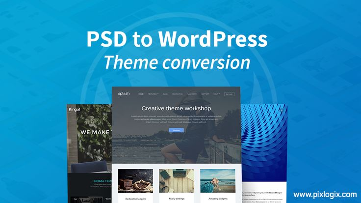 11 best PSD to WordPress images on Pinterest | Wordpress, Website ...