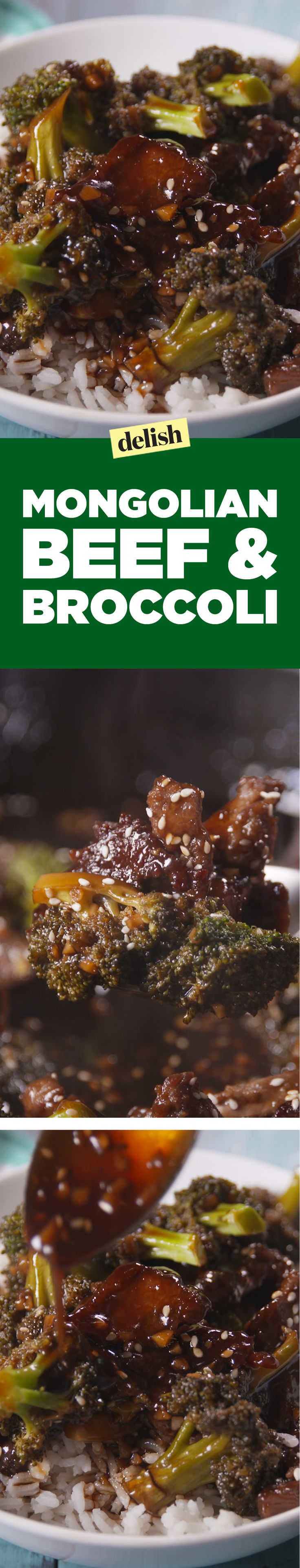Mongolian beef and broccoli puts takeout to shame. Get the recipe on Delish.com.