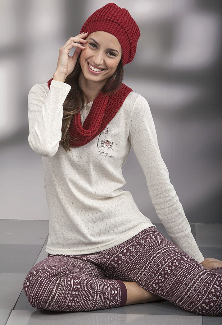 Pijama mujer en punto Massana