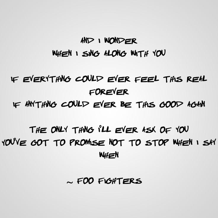 Foo Fighters – Everlong Lyrics | Genius Lyrics