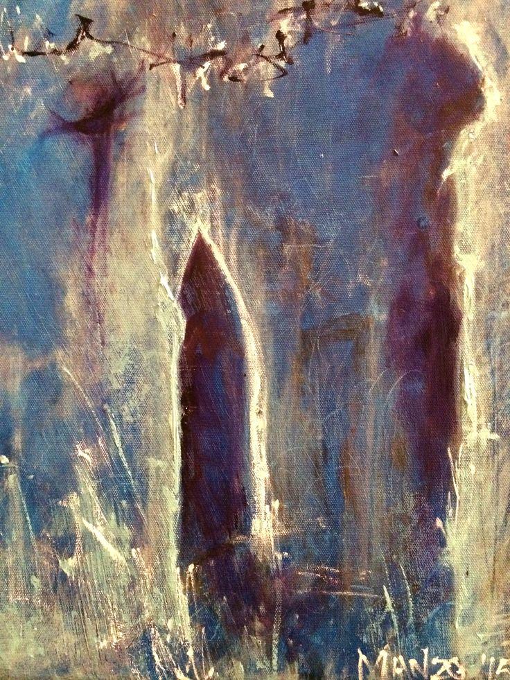 Cavern  40cm x 45cm
