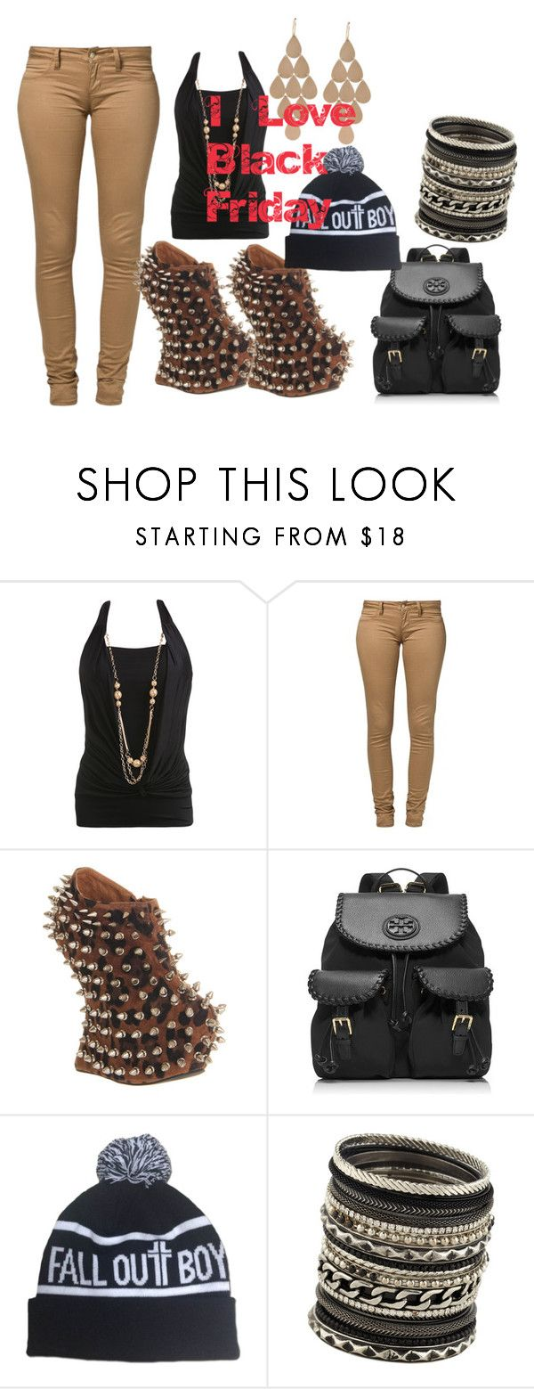 """Untitled #500"" by svhs2019 ❤ liked on Polyvore featuring Wet Seal, Monkee Genes, Jeffrey Campbell, Tory Burch, ALDO and Irene Neuwirth"