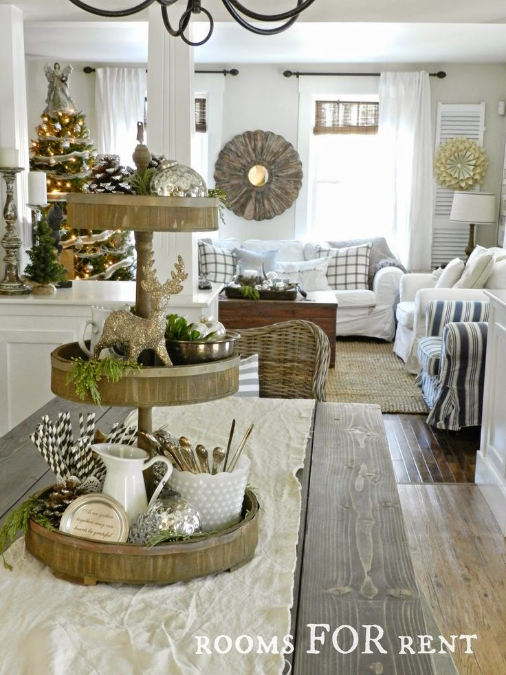 Stunning Christmas Country Home Tour 10