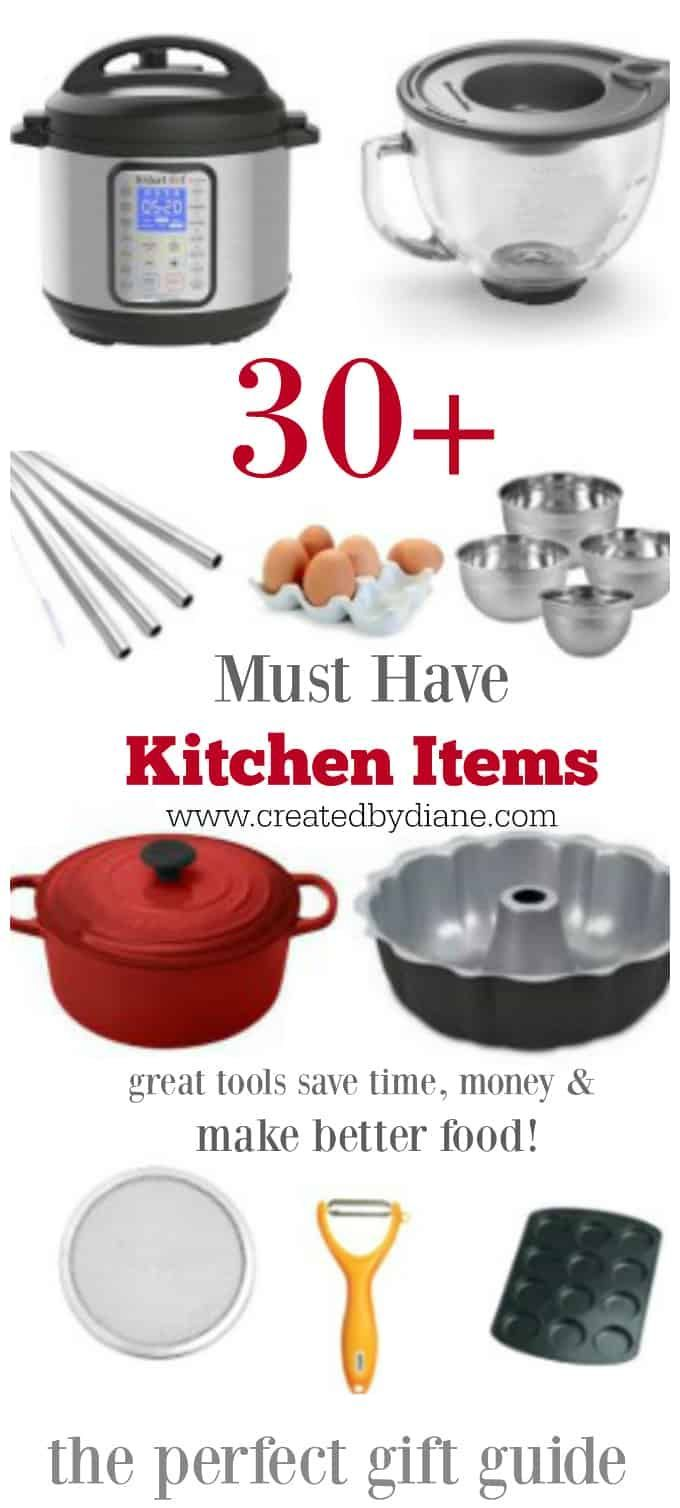 30 Plus Must Have Kitchen Items Great