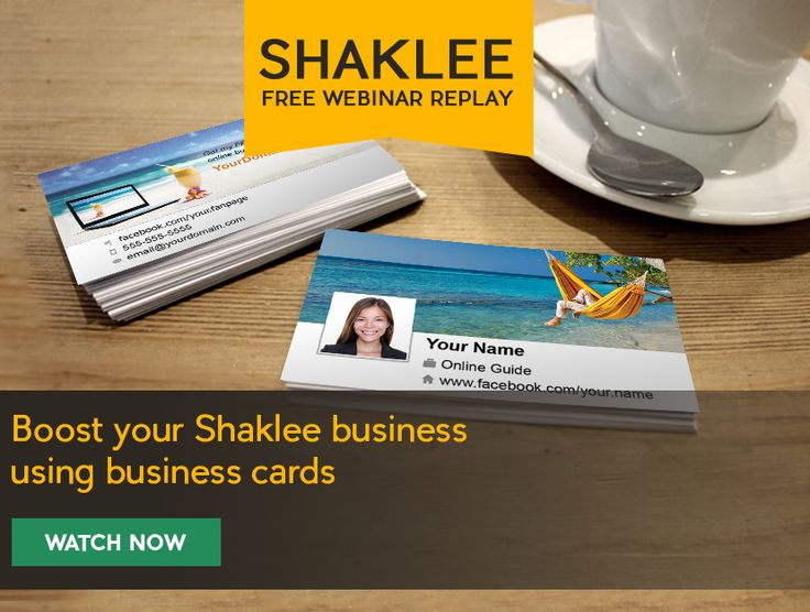 17 best images about free shaklee training on pinterest for Shaklee business cards
