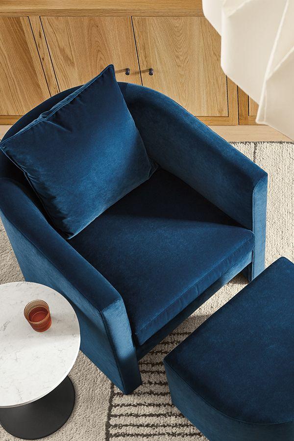 Silva Chair Ottoman Modern Accent Lounge Chairs Modern