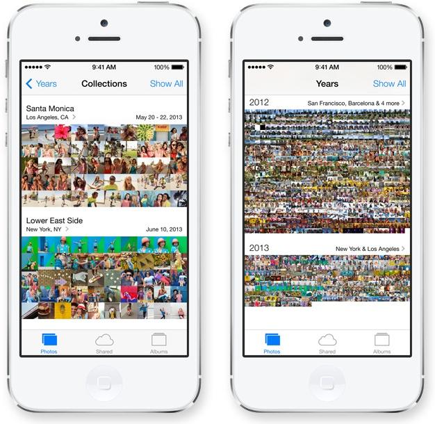 iOS 7 - fotos