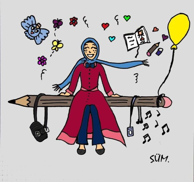 #hijab#anime