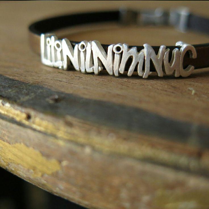 LILI, NIL, NIM, NUC. Polsera. Pulsera. Bracelet. Pequeñas joyas, grandes detalles. Small jewels, great gifts. www.argentumwords.com
