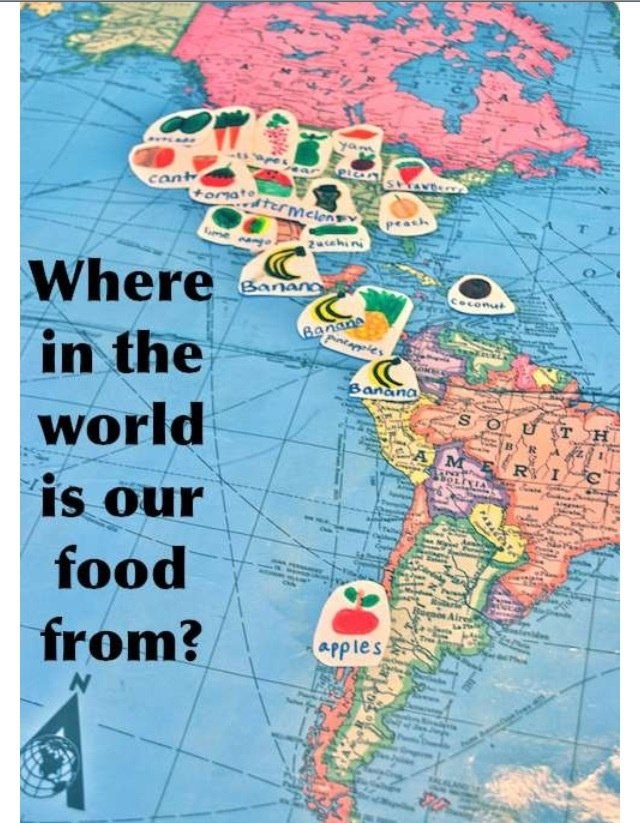 91 best geomaps images on pinterest maps school and activities this food mapping activity combines lessons on our food system with world geography helping show kids where our food comes from gumiabroncs Image collections