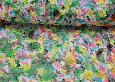 Stofje Tule kant bloemen opengewerkt