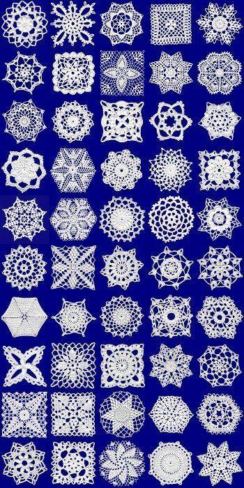crochet motifs by sonagrig
