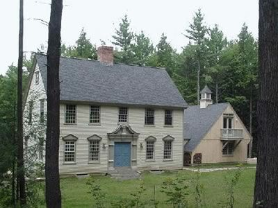 Old New England Homes New England Colonial House Old