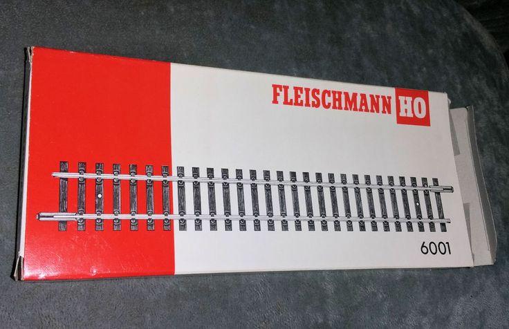 Fleischmann 6001, 20 Gerade Gleise, H0, unbenutzt, OVP