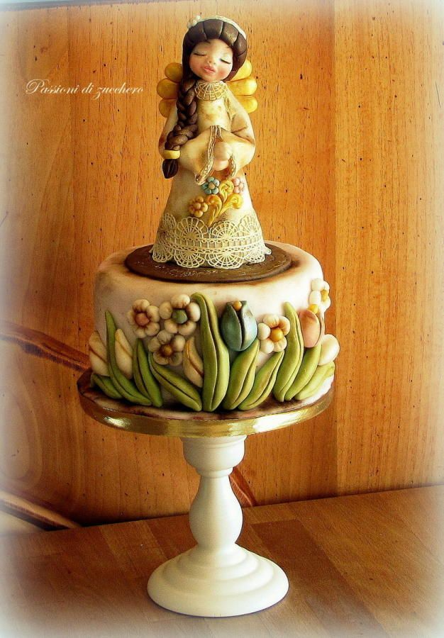 angel mother - Cake by passioni di zucchero