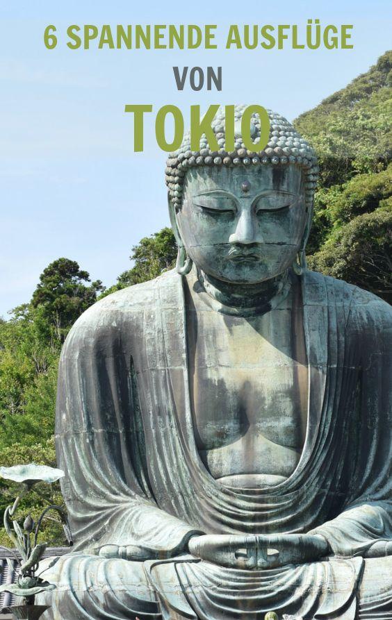 Die 6 besten Tagesausflüge von Tokio aus. Das musst du gemacht haben! #Kamakura #KAWAGOE #YOKOHAMA #ENOSHIMA #HAKONE #NIKKO #Japan #Japanreise