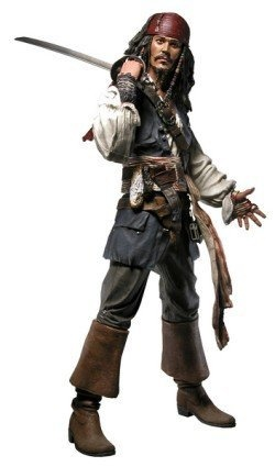 "Pirates of the Caribbean Jack Sparrow 18"" Action Figure by NECA, http://www.amazon.com/dp/B000MT66NO/ref=cm_sw_r_pi_dp_7T3Epb1HGRW3G"