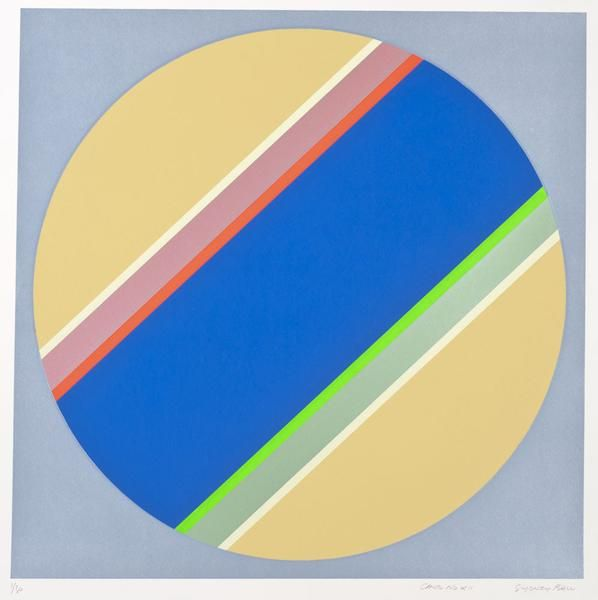 Sydney Ball is Australia's foremost pioneer of abstract art. Throughout his career, Ball tried many styles including Hard-edge Abstraction, Colour Field and Lyr