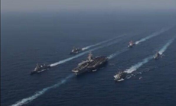 Американские военные корабли направляются в Северную Корею (ВИДЕО) | Новости Украины, мира, АТО