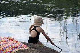 Badespaß ist in den Schären an Karlskronas Küste garantiert (Foto von: privat)