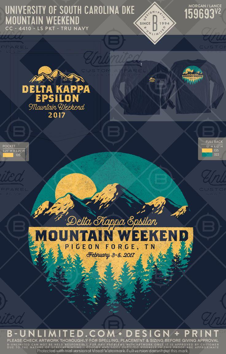 University of South Carolina- Delta Kappa Epsilon #BUonYOU #greek #greektshirts #greekshirts #fraternity #PRshirts #formals