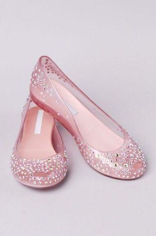 <3 Melissa UltraGirl + J. Maskrey Swarovski Crystal Embellished ballet flats…                                                                                                                                                                                 More