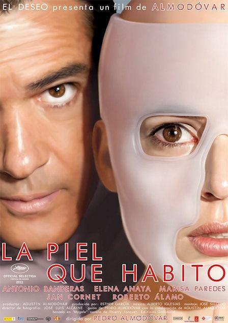 La Piel Que Habito - Una película cruda, fea mal escrita y melodramática pero sin el humor ni la picardía de las otras películas de Almodovar.  (4/10)