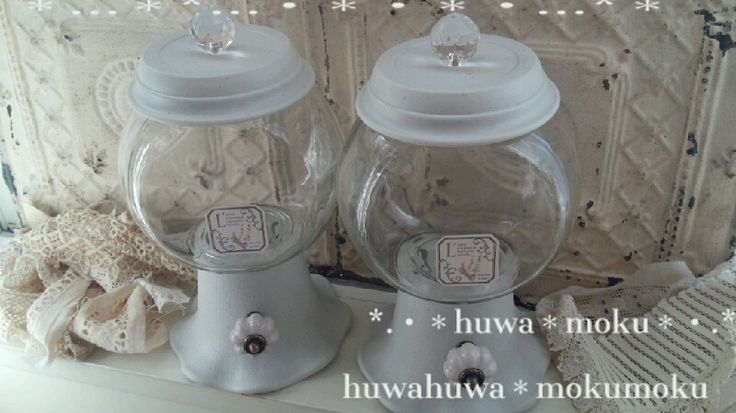 *キャンディボトルをガチャガチャ風に…*の画像   *:・・huwahuwa-mokumoku(・・)♪・・:* …