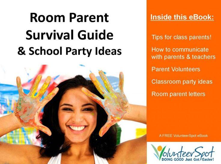 """""""Room Parent"""" Survival Guide & School Party Ideas..."""