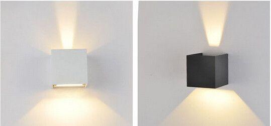 Lámparas de pared 7 W LLEVÓ la lámpara de Pared Al Aire Libre Impermeable Llevado Moderno pared de Luz Blanco Cálido 2 unids COB Chips Led Montado En La Pared lámpara en LED Lámparas de Pared Al Aire Libre de Luces e Iluminación en AliExpress.com | Alibaba Group