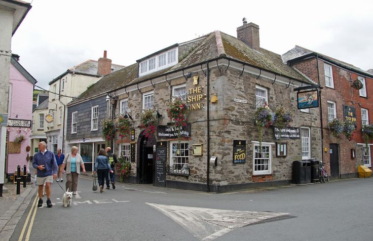 The ship inn, Mevagissey, Cornwall.