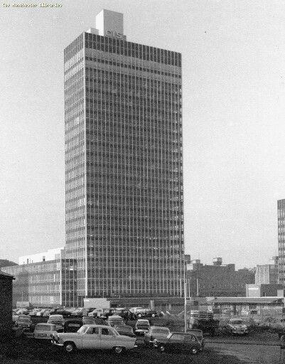 CIS Building 1965, Manchester.