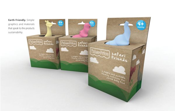 Safari Friends™ Collection on Packaging of the World - Creative Package Design Gallery
