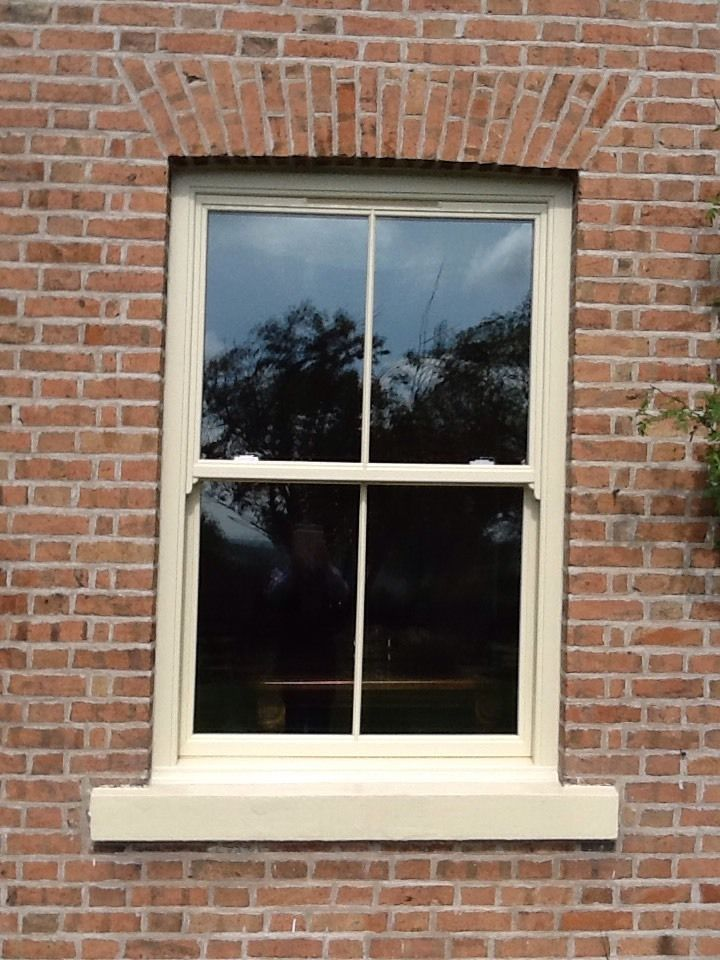 UPVC Sash Windows, Run Through Horns Sliding Sash Any Size £329 Inc VAT