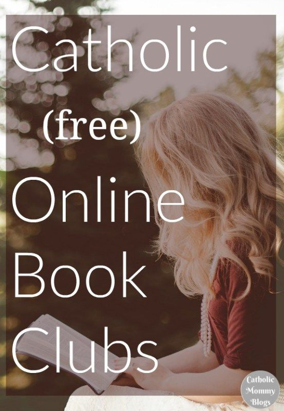 Catholic online book clubs for Catholic moms (free)