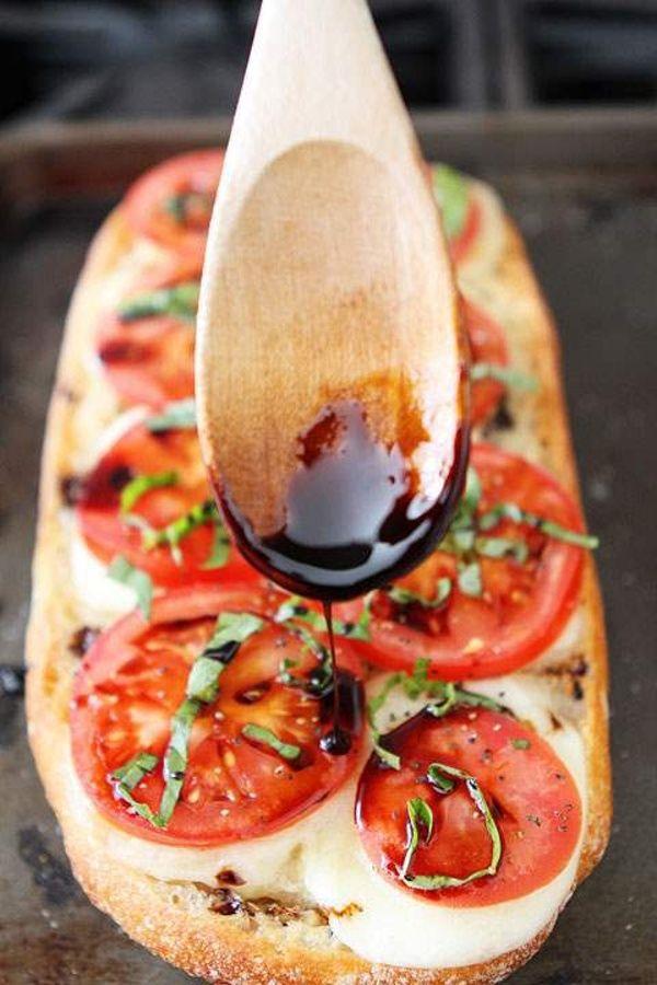 Italská bruschetta caprese za pouhých 5 minut