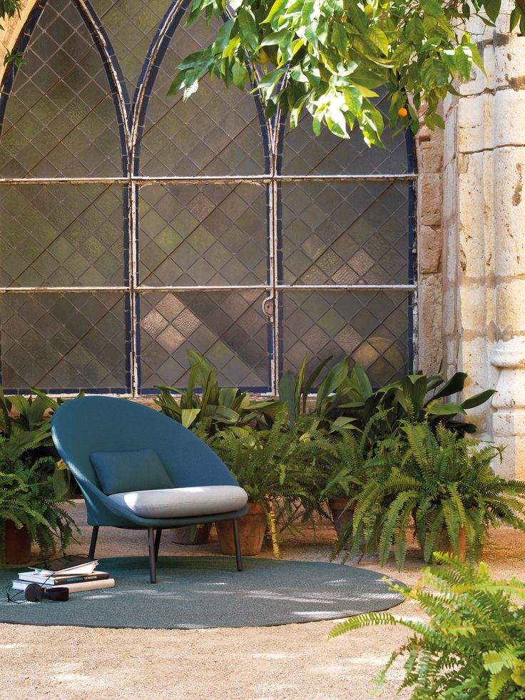 Twins Low Armchair By MUT Design. Outdoor Collection, 2015.