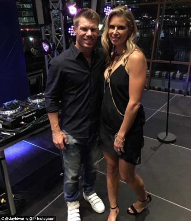 David Warner gushes over wife Candice who threw him a surprise 30th
