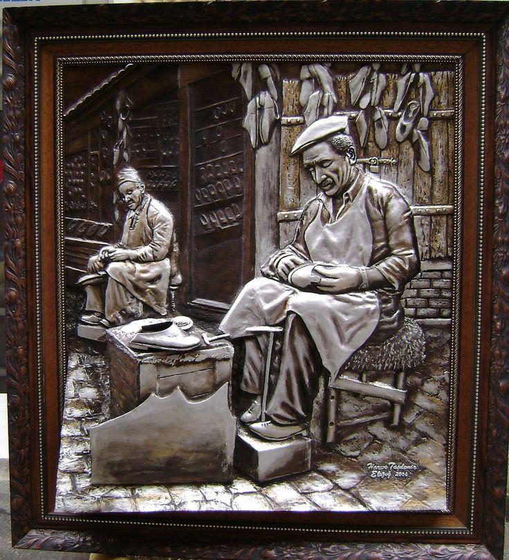 Harun Taşdemir (rölyef çalışmaları) - Resimkalemi Forum - Sanatçının Renkli Dünyasi