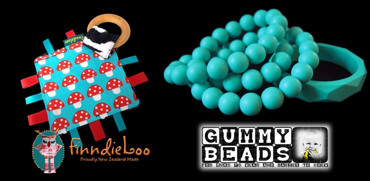 Enter to win: Got a Teething Baba? This GIVEAWAY from Gummy Beads and FinndieLoo is just the thing for you and your baby. | http://www.dango.co.nz/s.php?u=EpaJ6jW21620