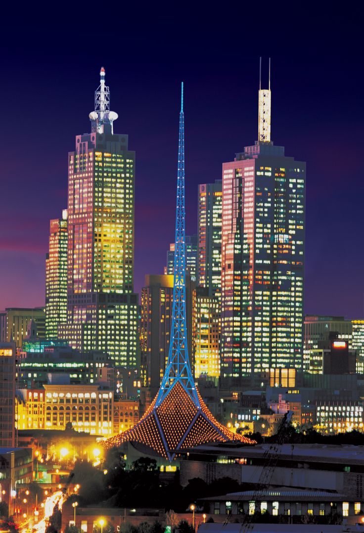 Melbourne Arts Centre Spire
